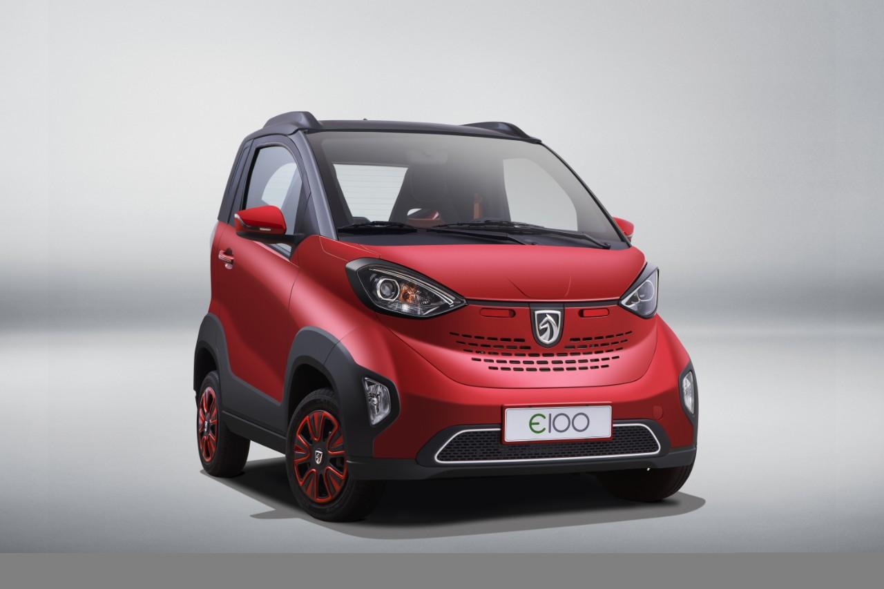 Elektro Kleinwagen BAOJUN E100 für 4.500 € - emoove.net
